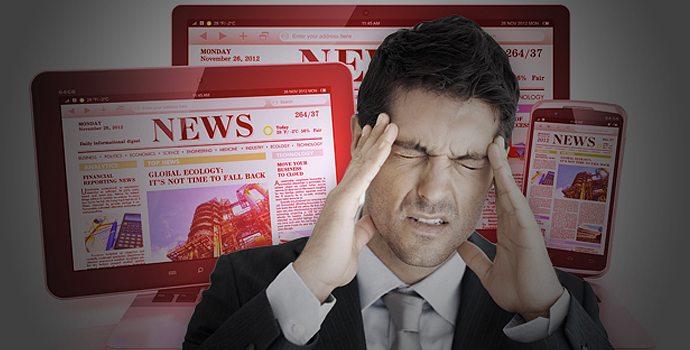 Les infos ruinent la santé