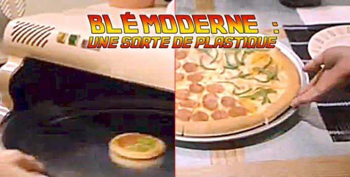 Blé moderne: une sorte de plastique