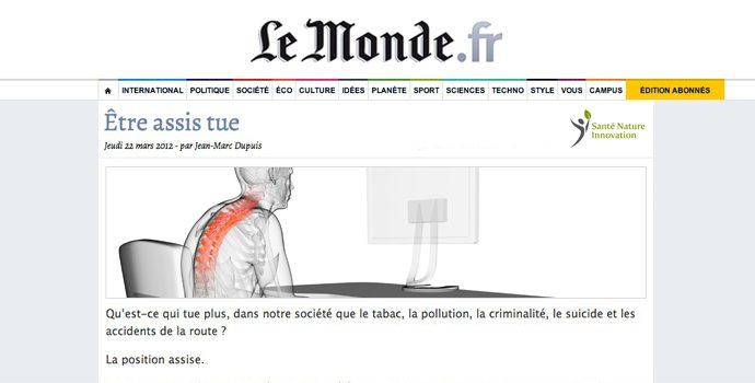 Le journal Le Monde lit-il Jean-Marc Dupuis??