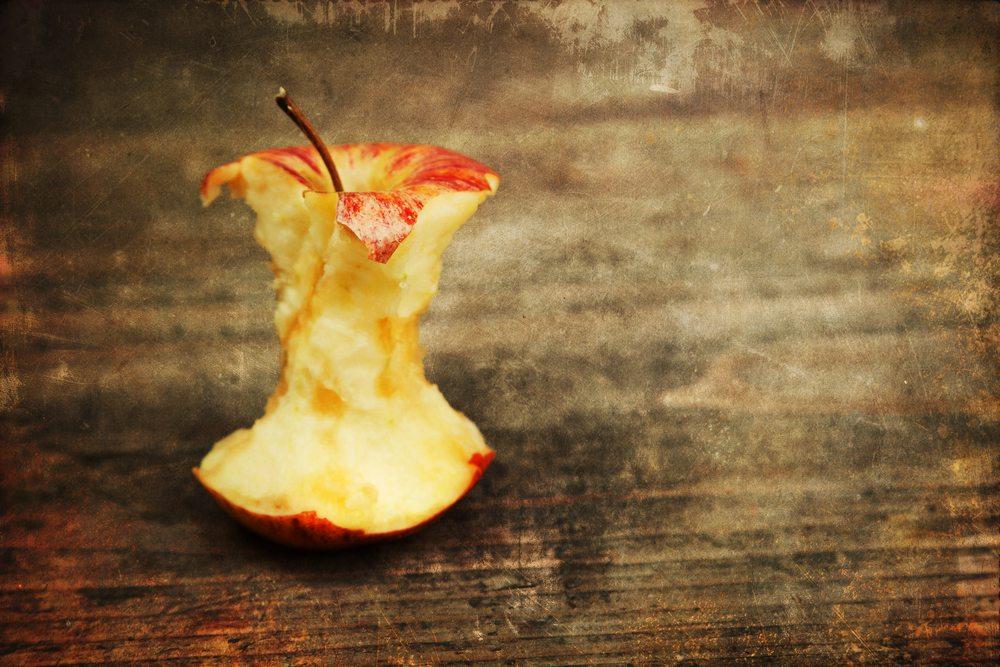 Faut-il manger le trognon de pomme ?