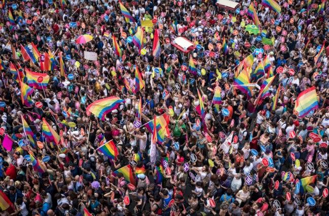 Incident à la Gay Pride de Londres