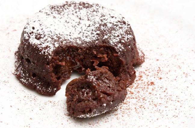 Affronter un moelleux au chocolat