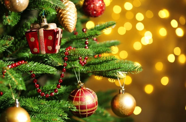 Bourvil chante le sapin de Noël