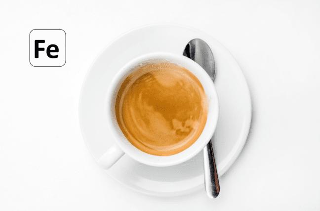 Le café empêche-t-il d'absorber le fer?