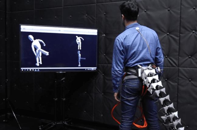 Une queue robotisée contre le mal de dos et les problèmes d'équilibre