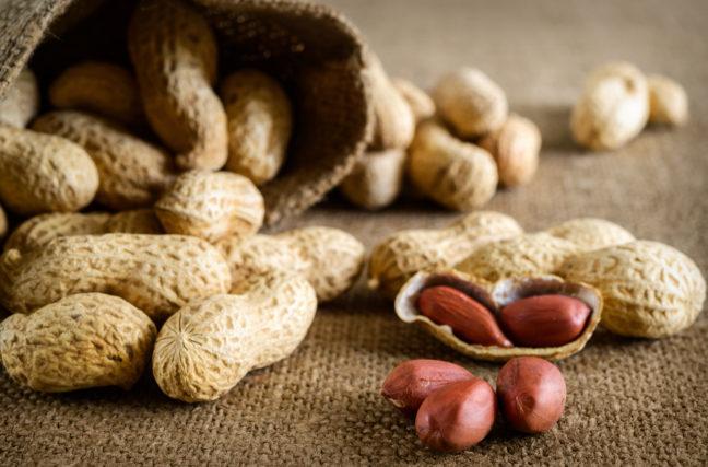 Insolite : le régime cacahuètes